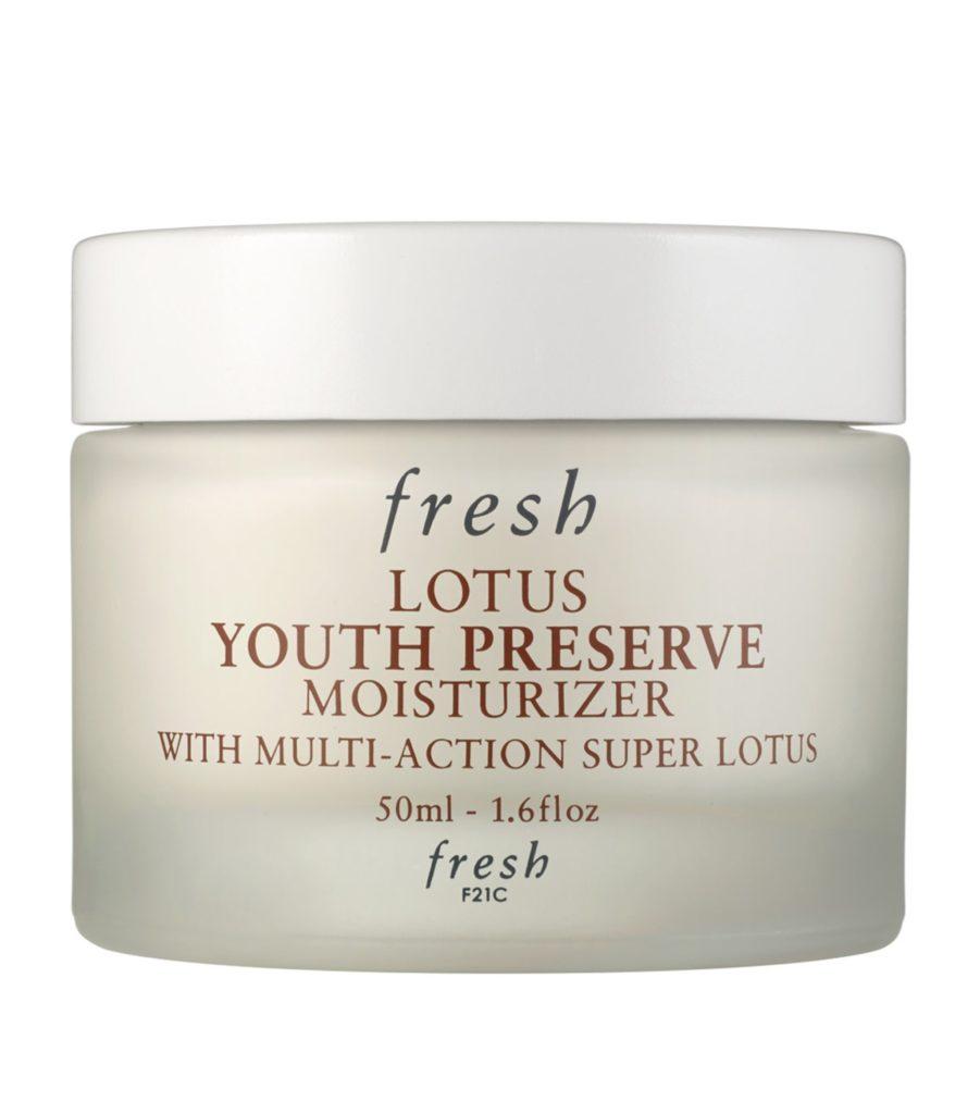 fresh lotus youth preserve moisturizer