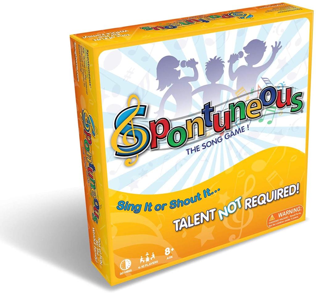 Spontuneous board game
