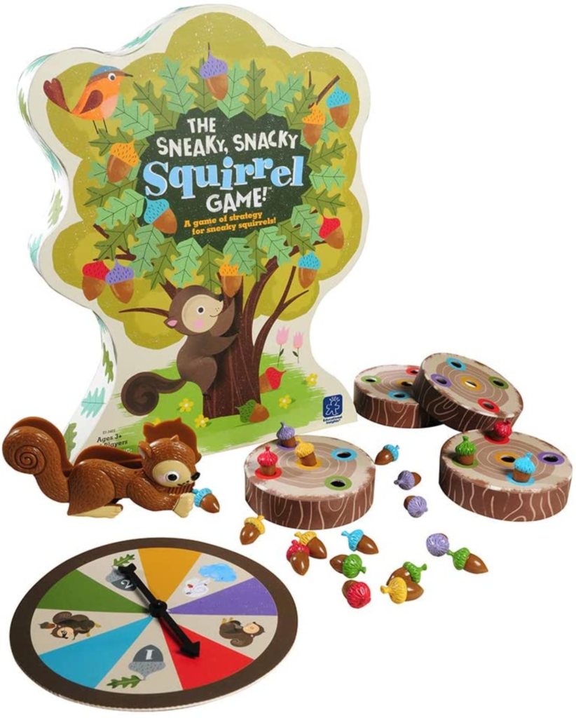Educational Insights The Sneaky, Snacky Squirrel Toddler & Preschool Board Games