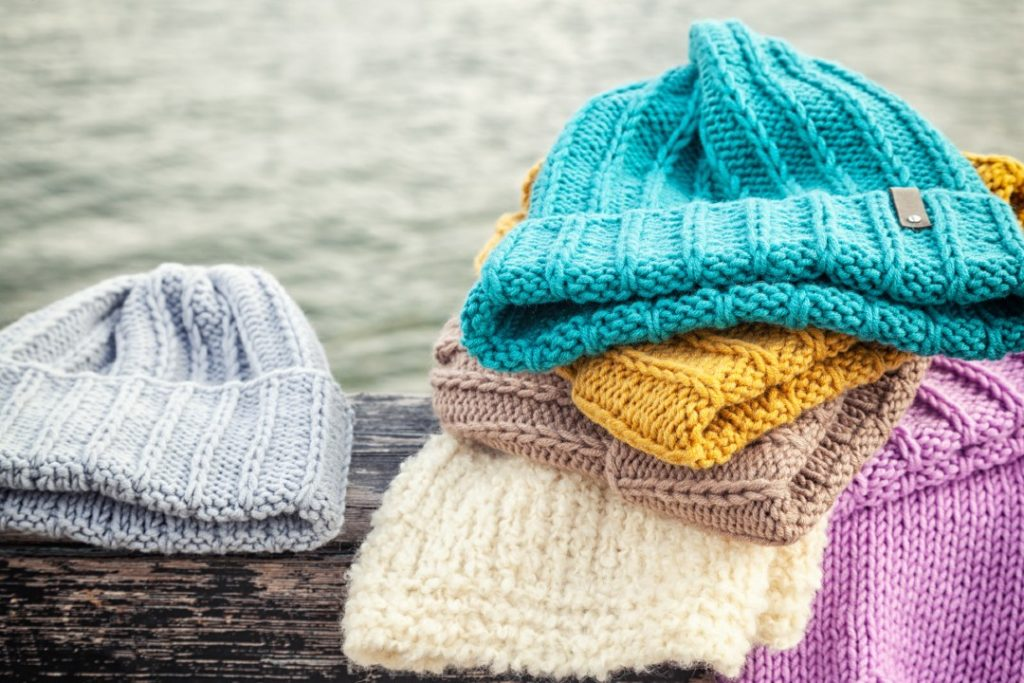 crocheting hats